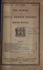 The Journal of the Royal Dublin Society: Volume 3, Issues 18-19