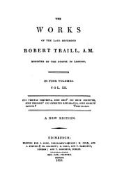 The Works Of Robert Traill Book PDF