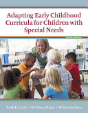 Adapting Early Childhood Curricula for Children with Special Needs  Enhanced Pearson Etext with Loose Leaf Version    Access Card Package PDF