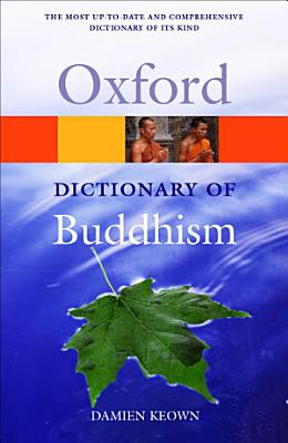 A Dictionary of Buddhism PDF