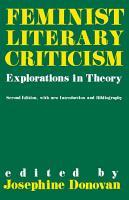 Feminist Literary Criticism PDF