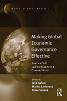 Making Global Economic Governance Effective PDF