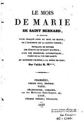 Mois de Marie de Saint Bernard