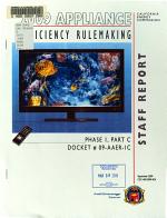 2009 Appliance Efficiency Rulemaking   Phase I  Part C  Docket  09 AAER 1C PDF