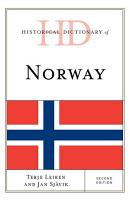 Historical Dictionary of Norway PDF
