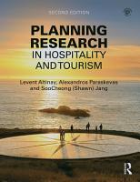 Planning Research in Hospitality and Tourism PDF