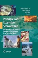 Principles of Ecosystem Stewardship PDF