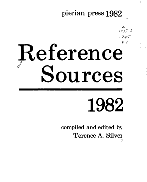 Reference Sources  1982 PDF
