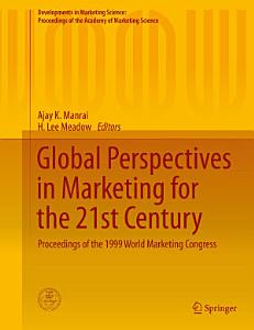 Global Perspectives in Marketing for the 21st Century PDF