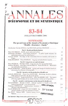 Annales d   conomie et de statistique PDF
