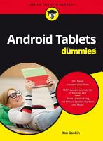 Android Tablets f  r Dummies PDF