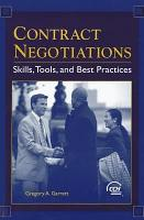 Contract Negotiations PDF