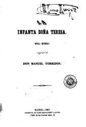 La Infanta doña Teresa: novela histórica