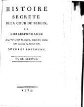 Histoire secrète de la cour de Berlin: Volume2