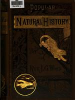 Popular Natural History PDF
