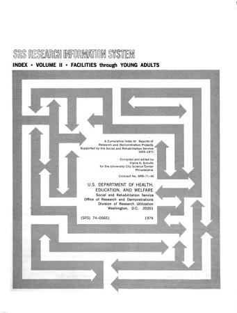 SRS Research Information System Index PDF