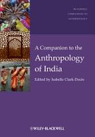 A Companion to the Anthropology of India PDF