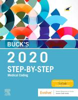 Buck s Step by Step Medical Coding  2020 Edition E Book PDF