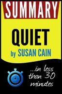 Summary of Quiet Book