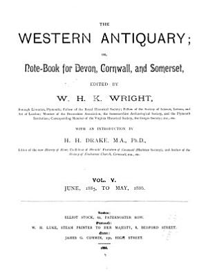 The Western Antiquary  Or  Devon and Cornwall Note book PDF