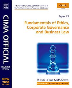 Fundamentals of Ethics, Corporate Governance and Business Law, Certificate Level