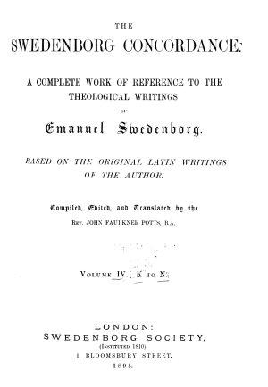 The Swedenborg Concordance