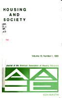 Housing and Society PDF