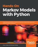 Hands On Markov Models with Python PDF