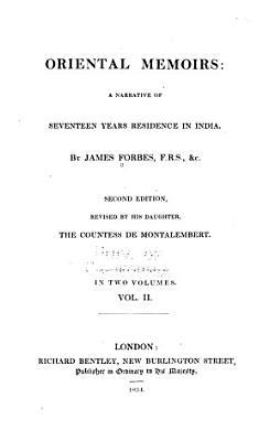 Oriental Memoirs PDF