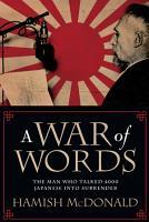 A War of Words PDF