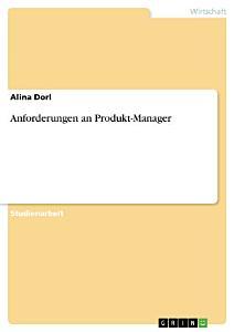 Anforderungen an Produkt Manager PDF