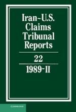 Iran-US Claims Tribunal Reports: Volume 22