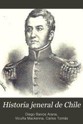 Historia jeneral de Chile: pte. 7. La reconquista española, de 1814 a 1817