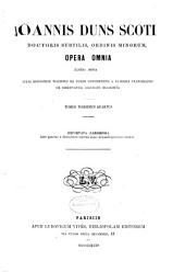 Opera omnia: Volume 24