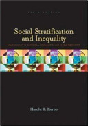Social Stratification And Inequality Book PDF