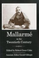 Mallarm   in the Twentieth Century PDF
