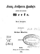 Franz Freiherrn Gaudy's poetische und prosaische Werke: Band 2