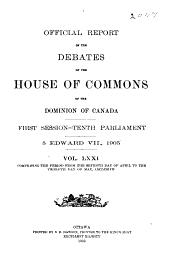 Debates: Official Report, Volume 3