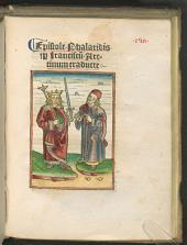 Epistole Phalaridis p[er], Franciscu[m] Aretinum traducte