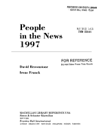 People in the News 1997 PDF