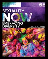 Sexuality Now  Embracing Diversity PDF