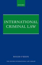 International Criminal Law Book PDF