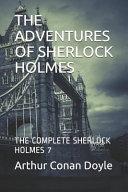 The Adventures Of Sherlock Holmes Book PDF