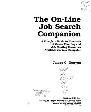 The On line Job Search Companion PDF