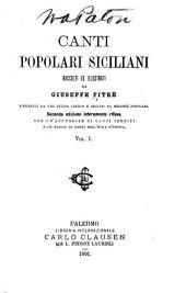 Biblioteca delle tradizioni popolari siciliane: Volume 1