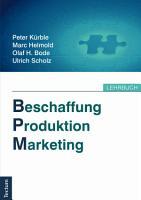 Beschaffung  Produktion  Marketing PDF