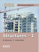 Design of Steel Structures  Vol  1  PDF