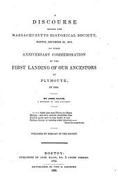 Collections of the Massachusetts Historical Society: Volume 1; Volume 11