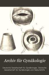 Arch gynakol: Band 8