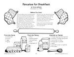 Pancakes for Breakfast--Buttermilk Pancakes Recipe